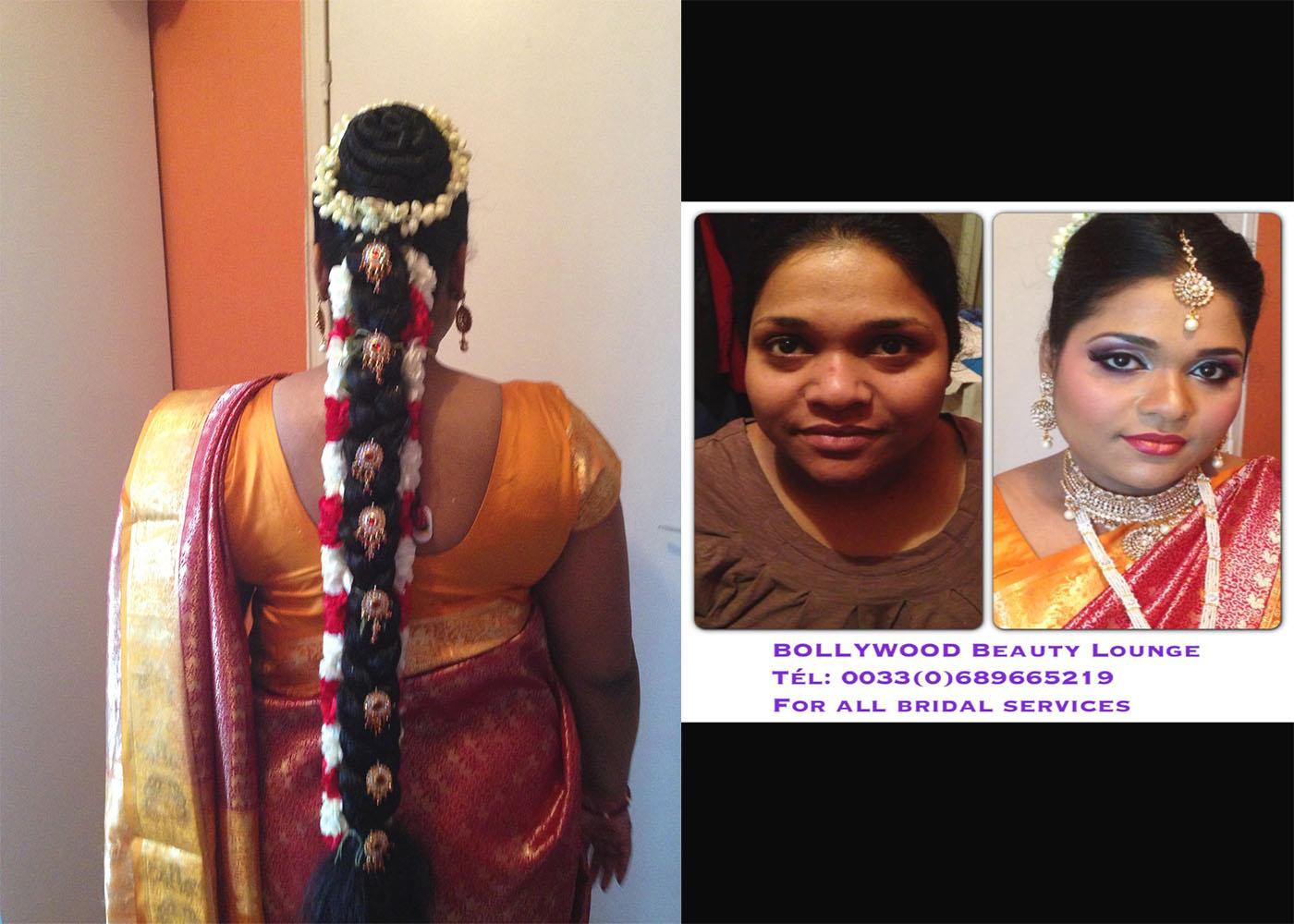 Tamil Mariee Bollywood Coiffures